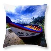 San Rafael Throw Pillow