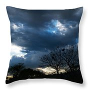San Salvador Sunset 4 Throw Pillow