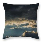 San Salvador Sunset 6 Throw Pillow