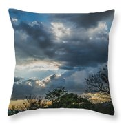 San Salvador Sunset Throw Pillow