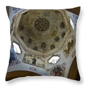 San Xavier Dome Throw Pillow