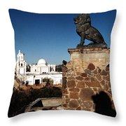 San Xavier Lions Throw Pillow