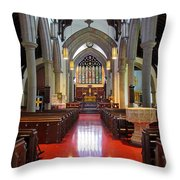 Sanctuary Christ Church Cathedral 1 Throw Pillow