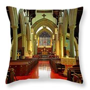 Sanctuary Christ Church Cathedral 2 Throw Pillow
