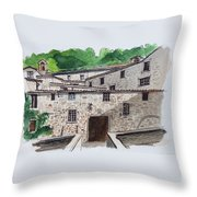 Sanctuary Of St. Francis Throw Pillow