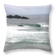 Sand And Sea 9 Throw Pillow