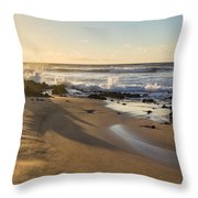 Sand And Sun Flare Throw Pillow