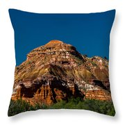 Sand Art Monument Throw Pillow