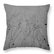 Sand Beach Texture Throw Pillow