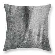 Sand Blend Bw Throw Pillow