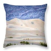 Sand Desert Usa Throw Pillow
