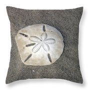 Sand Dollar 1 Throw Pillow