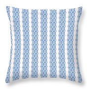Sand Dollar Delight Pattern 5 Throw Pillow by Monique Faella