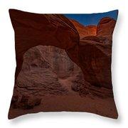 Sand Dune Arch II Throw Pillow