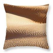Sand Dunes 2 Throw Pillow