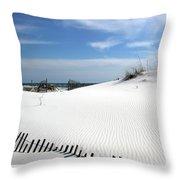 Sand Dunes Dream Throw Pillow