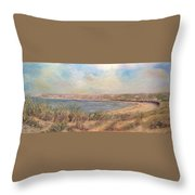 Sand Dunes, St. Ouens Bay Throw Pillow