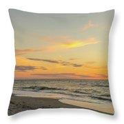 Sand Key Sunset II Throw Pillow