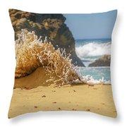 Sand Monster Throw Pillow