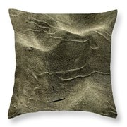Sand Painting Throw Pillow