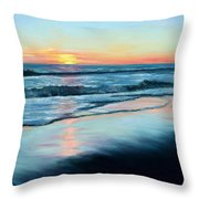 Sand Reflections Throw Pillow