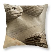 Sand Spirits Throw Pillow