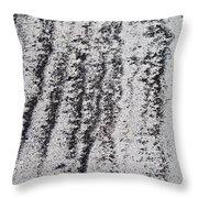 Sand Stripes Throw Pillow