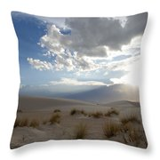 Sand Sun Throw Pillow