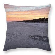 Sand Works Throw Pillow