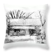 Sandersville Road Farmhouse Throw Pillow