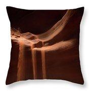 Sandfall Throw Pillow