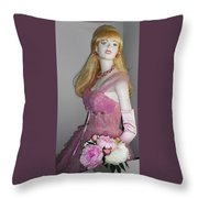 Sandies Girl 4 Throw Pillow
