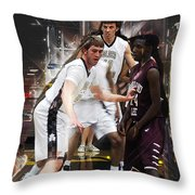 Dee Fence Throw Pillow