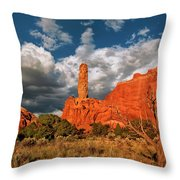 Sandpipe Formations Kodachrome Basin State Park Utah Throw Pillow