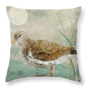 Sandpiper II Throw Pillow