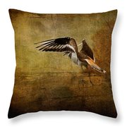 Sandpiper Piping Throw Pillow
