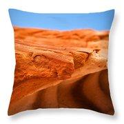 Sandstone Edge Throw Pillow