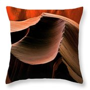 Sandstone Melody Throw Pillow
