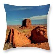 Sandstone Near And Far Throw Pillow