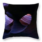 Sandstone Portal Throw Pillow by Mike  Dawson