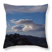 Sandstone Quarry I Throw Pillow
