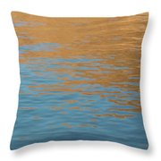 Sandstone Reflections Throw Pillow
