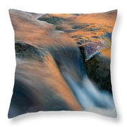 Sandstone Reflections Throw Pillow by Mike  Dawson