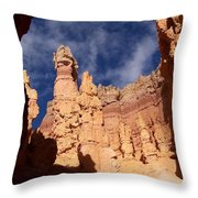 Sandstone Sculpture Throw Pillow