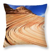 Sandstone Slide Throw Pillow