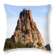 Sandstone Spires In Garden Of The Gods Throw Pillow