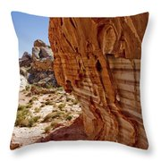 Sandstone Texture Throw Pillow