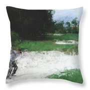 Cross Your Fingers Throw Pillow