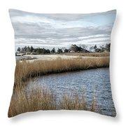 Sandy Hook New Jersey Throw Pillow
