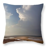 Sandy Neck Beach Throw Pillow